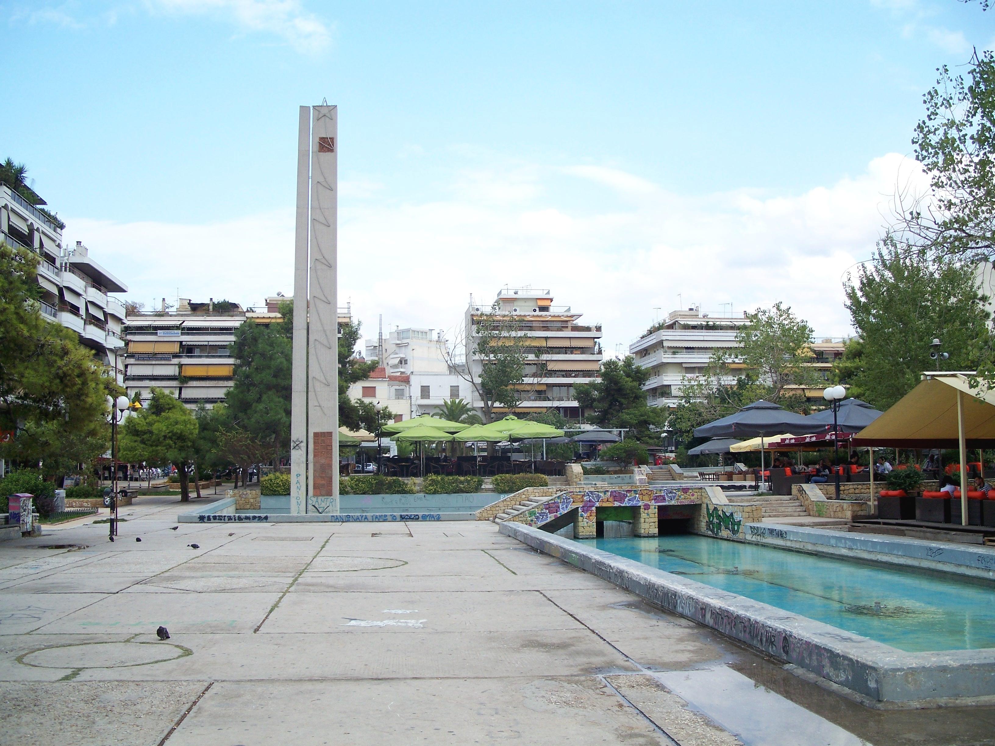 Nea_Smyrni_Central_square